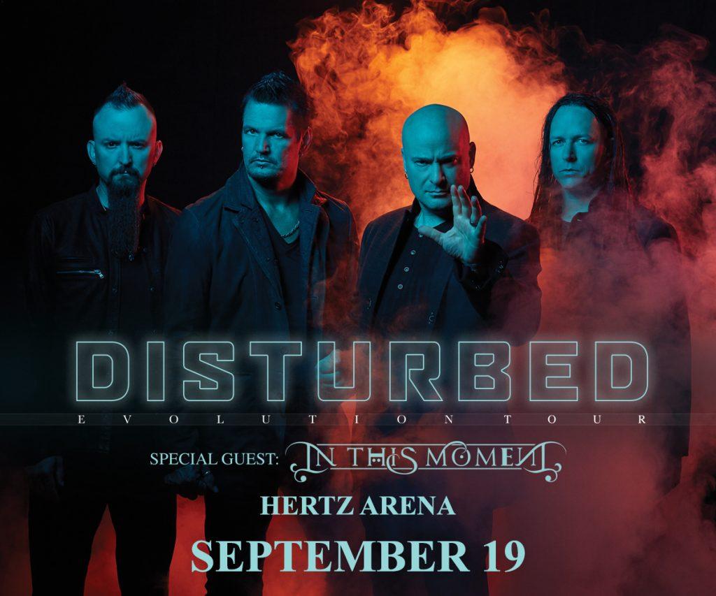 Disturbed Hertz Arena