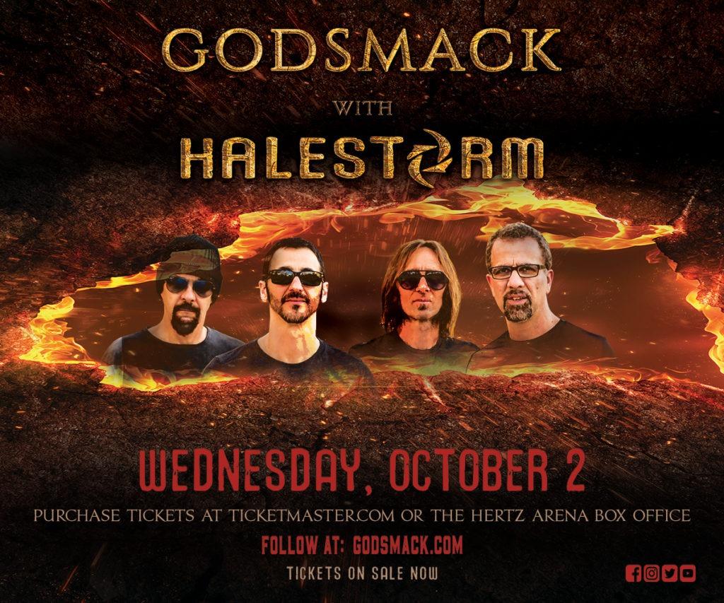 Godsmack Hertz Arena